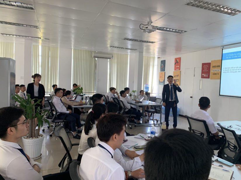 Đất Xanh Miền Đông tổ chức chương trình đào tạo quý I năm 2020 cho CBNV