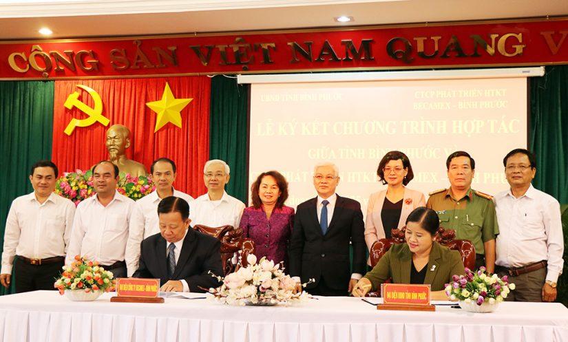 Ký kết thỏa thuận hợp tác chiến lược Bình Phước – Becamex IDC