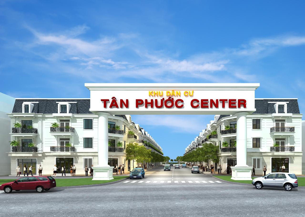 Cổng dự án Tân Phước Center