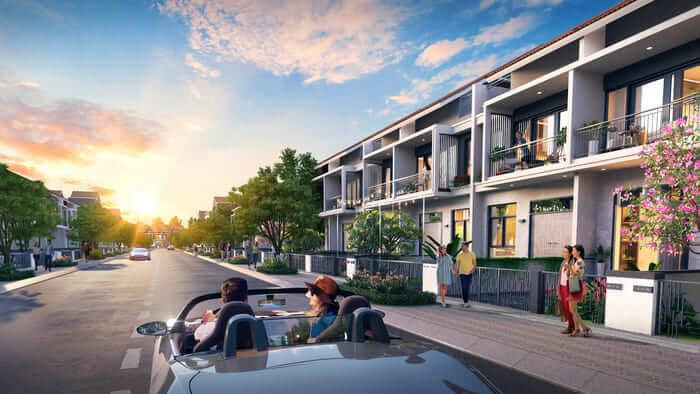Nhà phố dự án Gem Sky World