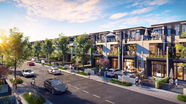 Lần đầu tiên chủ đầu tư giới thiệu dòng sản phẩm nhà phố xây sẵn ra thị trường.
