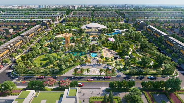 Dự án Gem Sky World - một trong những dự án nổi bật tại hưởng lợi từ hạ tầng sân bay Long Thành