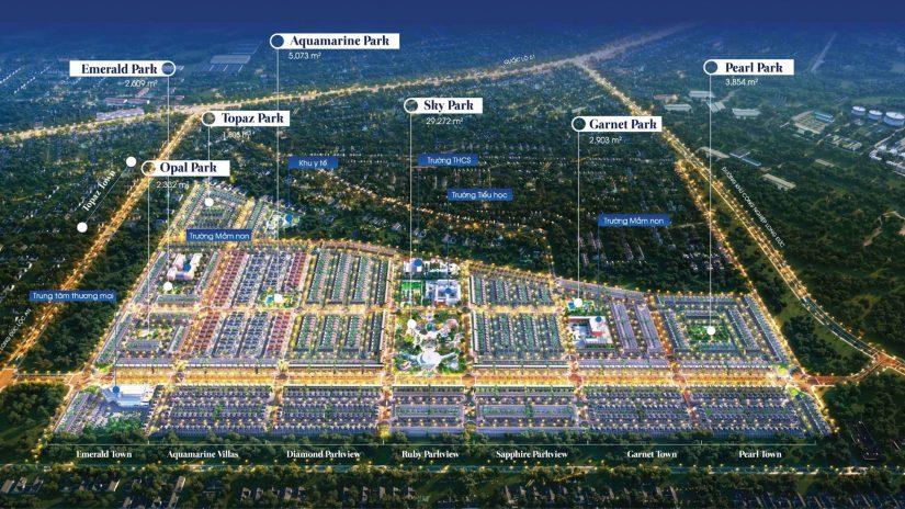 Khu đô thị Gem Sky World thu hút giới đầu tư BĐS