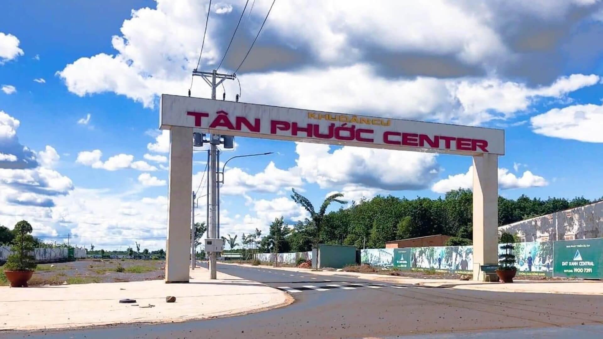 Tân Phước Center – Dưới góc nhìn đầu tư