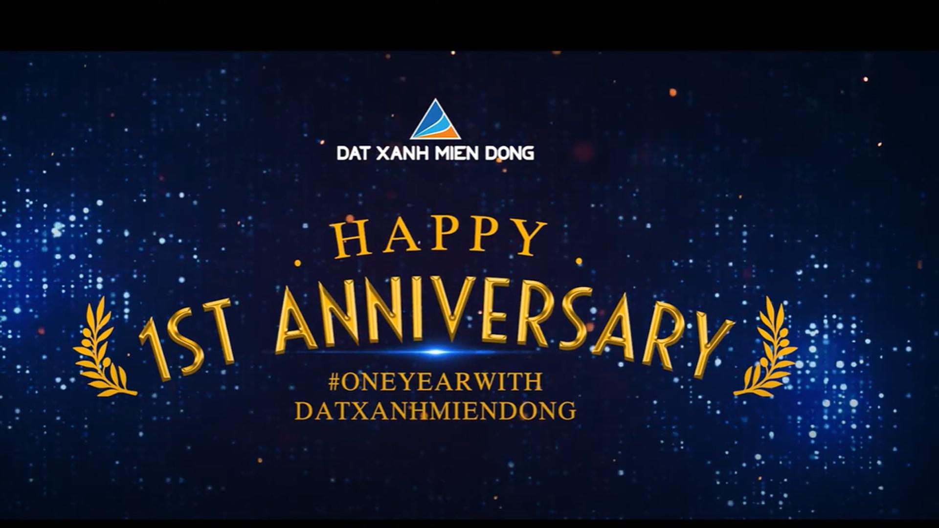 Kỷ niệm 1 năm thành lập Công ty Đất Xanh Miền Đông