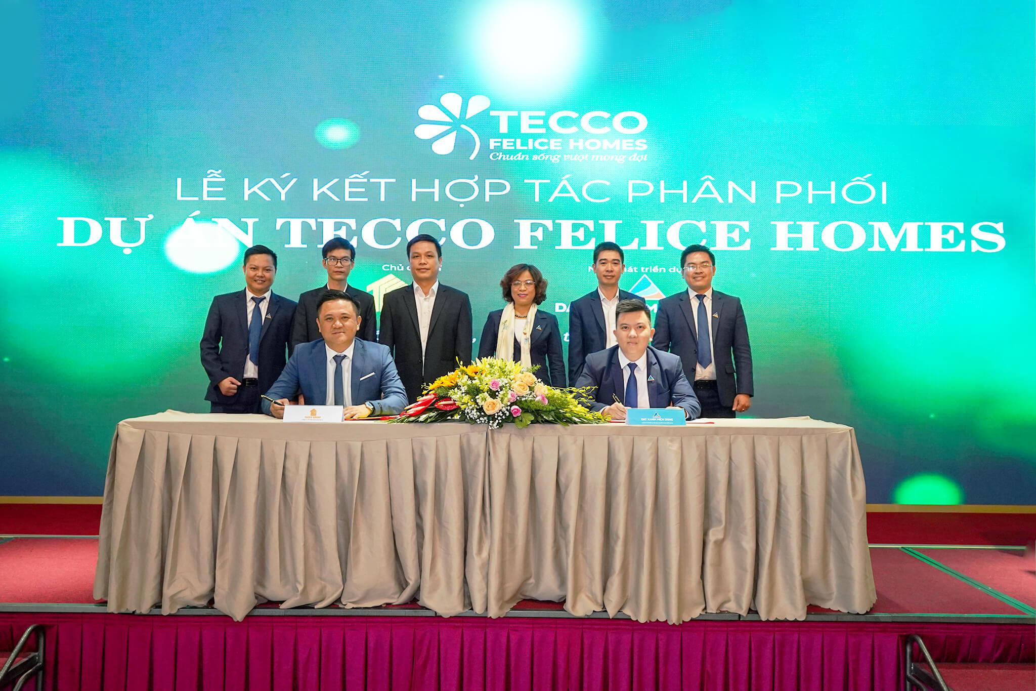 ĐẤT XANH MIỀN ĐÔNG kí kết hợp tác cùng tập đoàn TECCO